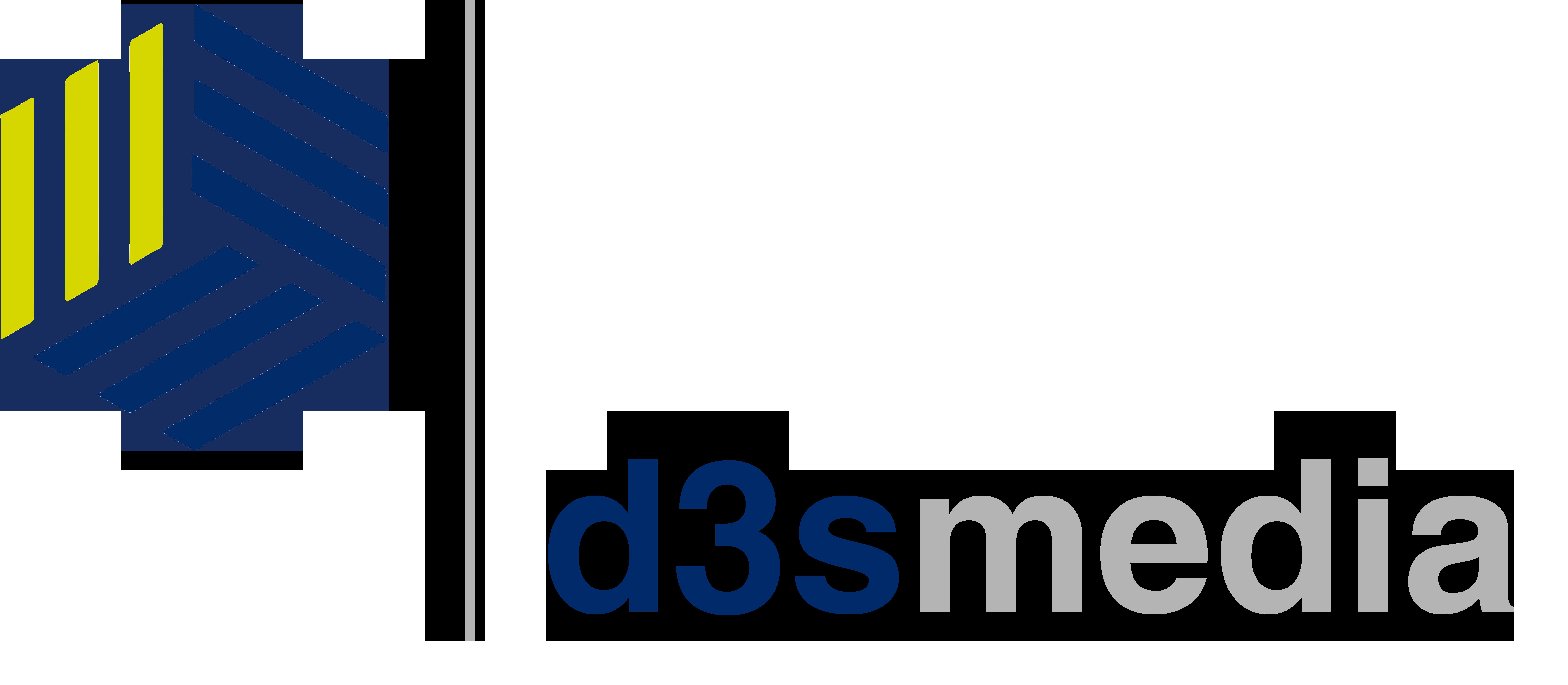 Das neue Unternehmenslogo der D3Smedia UG (haftungsbeschränkt)